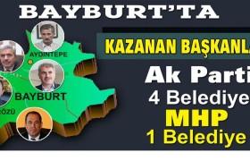 Bayburt'ta Ak Parti Farkı