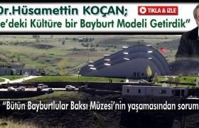 Baksı Müzesi,Türkiye'deki Kültüre Bayburt Modeli Getirdi