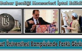 Bayburt Üniversitesi Kampüsü Sanatla Bezendi