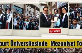 Bayburt Üniversitesi'nde  Mezuniyet Töreni