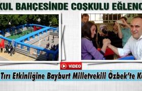 Spor Tırı Bayburt'a Çocuklar İçin Geldi