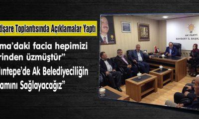 Özbek,İstişare Toplantısında Açıklamalar Yaptı