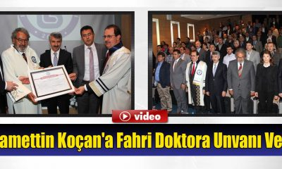 Bayburt Üniversitesi'nden Koçan'a Fahri Doktora Unvanı