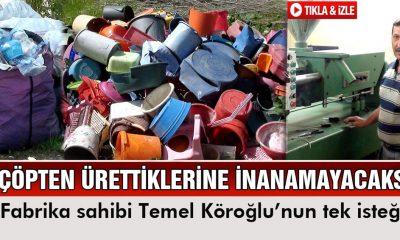 Çevre İllerden Çöp Topluyor, Bayburt'ta Üretim Yapıyor