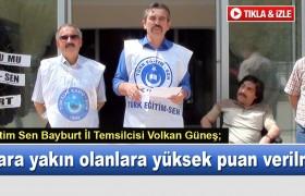 Türk Eğitim Sen'den Sert Eleştiri