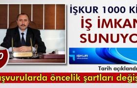 Bayburt'ta İŞKUR 1000 Kişiye İş İmkanı Sunuyor