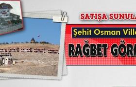 Şehit Osman Villaları Rağbet Görmedi