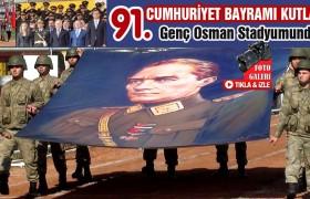 Cumhuriyet Bayramı Törenleri Genç Osman Stadyumunda Gerçekleşti