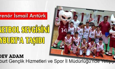 Arıtürk, Basketbol Sevgisini Bayburt'a Taşıdı