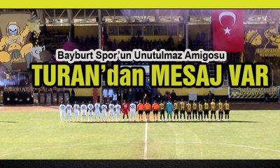Bayburt Spor'un Unutulmaz Amigosundan Mesaj Var