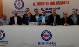 Eğitim-Bir-Sen 8.Türkiye Buluşması Antalya'da  Gerçekleşti