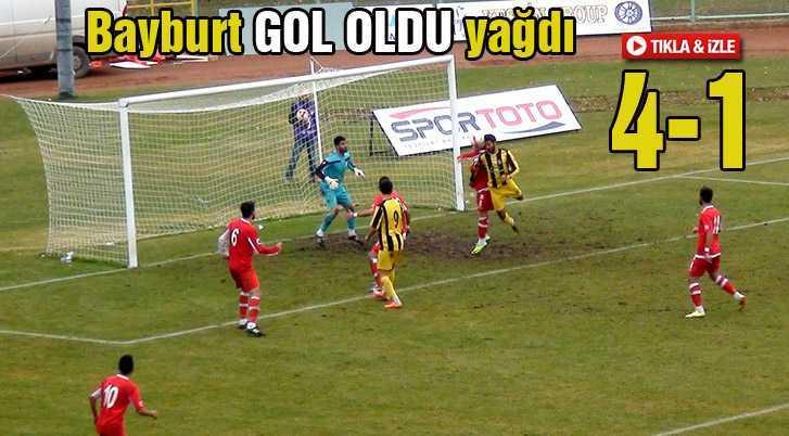 Bayburt Spor'dan Fenerbahçe'ye Göz Dağı…