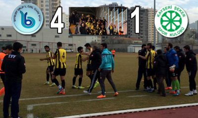 Bayburt Spor Devreyi Şekerli 3 Puanla Kapadı-Foto Haber