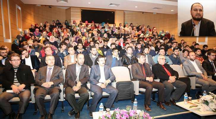 """Bayburt Üniversitesinden """"Mevlana Ve İnsan"""" Konulu Konferans"""