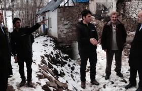 Milletvekili Özbek, Kozluk Köyünde Afetzedeleri Ziyaret Etti.