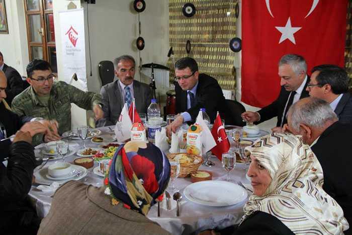 Şehit ve Gazi Aileleri Bilgilendirme Toplantısında Biraraya Geldi 1