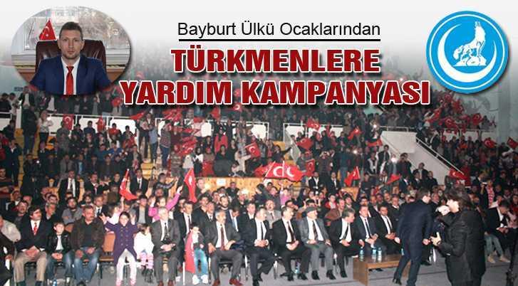 Ülkü Ocaklarından Suriyeli Türkmenlere Yardım Kampanyası