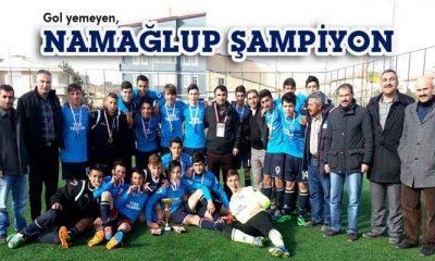 Telekom U 17 Futbol Takımı Namaglup Şampiyon