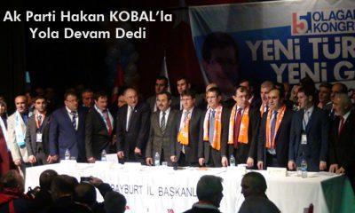 Ak Parti Hakan Kobal'la Yola Devam Dedi-Foto Haber