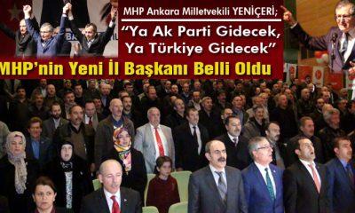 Bayburt'ta MHP'nin Yeni İl Başkanı Süleyman Burç Oldu-Foto Haber