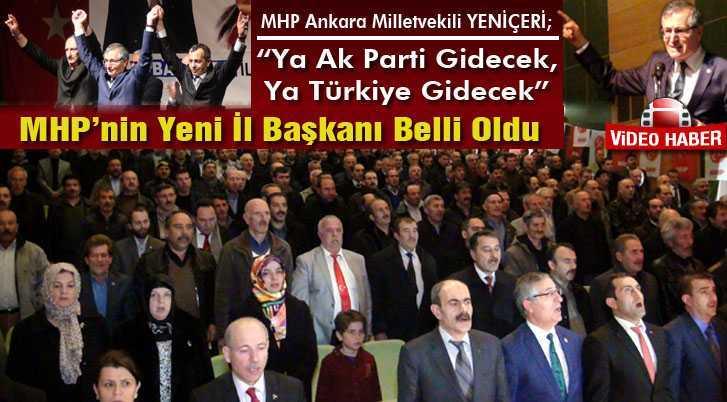 Bayburt'ta MHP'nin Yeni İl Başkanı Süleyman Burç Oldu