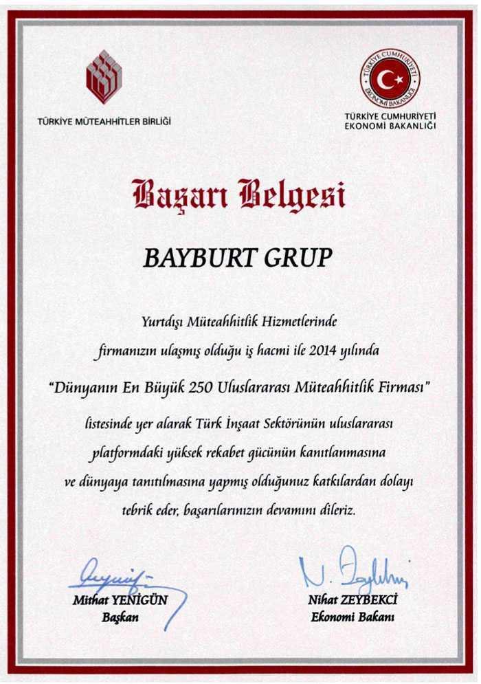Bayburt Grup Dünya Ödülüne Layık Görüldü 4