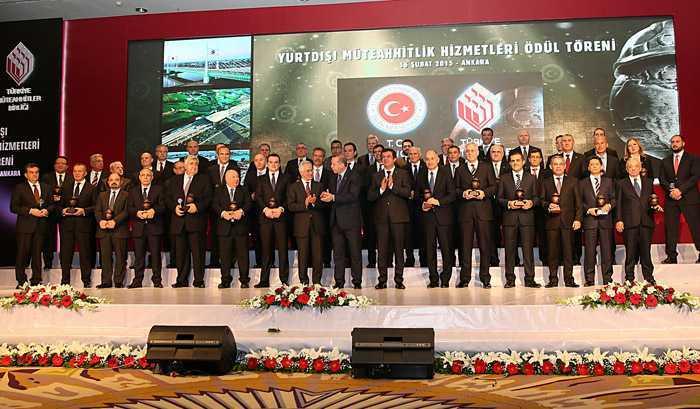Bayburt Grup Ödülünü, Cumhurbaşkanı Erdoğan'ın Elinden Aldı  2