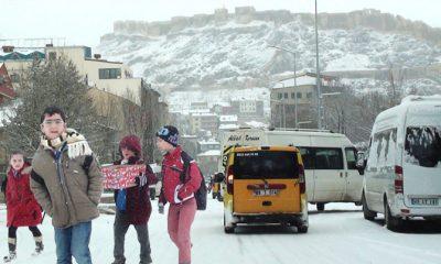 Kar Bayburt'u Beyaza Bürüdü-Foto Haber