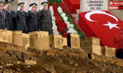 Çanakkale Zaferinin 100. Yılı Bayburt'ta Törenlerle Kutlandı-Foto Haber