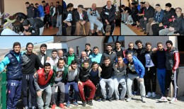 Bayburt Spor'lu Futbolculardan Huzur Evi Ziyareti