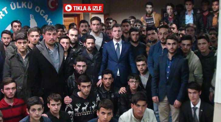 Ülkü Ocakları Başkanı Kılıç, Sert İfadeler Kullandı…