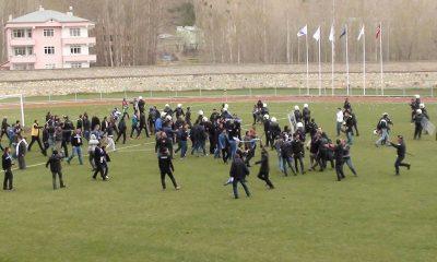 Bayburt Erzurum Maçı Sonrasında Olaylar Çıktı-Foto Haber