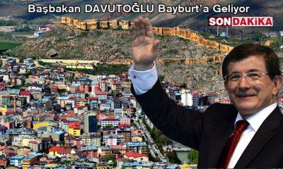 Başbakan Davutoğlu Bayburt'a Geliyor