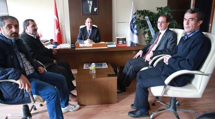 Prof.Dr. Aslan Gülcü Üniversitesitede Görevine Başladı