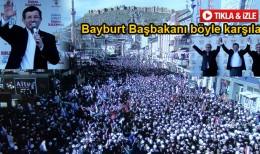 Başbakan Davutoğlu Bayburt'tan Memnun Ayrıldı