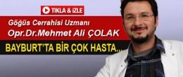 Göğüs Cerrahisi ÇOLAK'tan Önemli Uyarı!