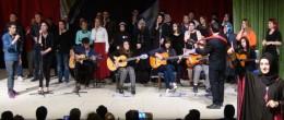 İşaret Diliyle İstiklal Marşı ve Şarkı Söylediler