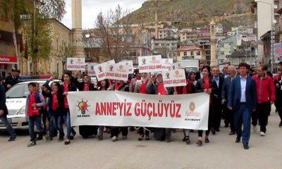 Ak Partili Kadınlardan Güçlü Anneler Güçlü Türkiye Yürüyüşü-Foto Haber