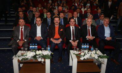 Bayburt Üniversitesinden, Rıfat Hisarcıklıoğlu'na Fahri Doktora Unvanı -Foto Haber