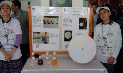 Bayburt Ortaokulundan Bilim Fuarı Sergisi-Foto Haber