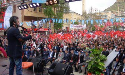 Bayburt'ta Ülkücüler 19 Mayısı Şölene Çevirdi-Foto Haber