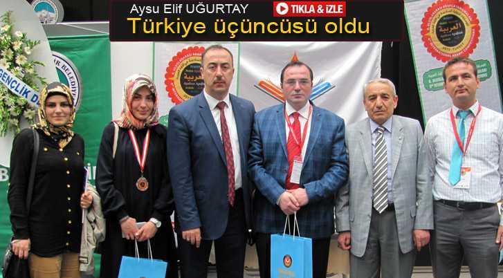 Uluslararası Yarışmada Bayburt Türkiye Üçüncüsü Oldu