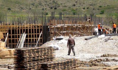 Çilçil Mevkiinde Eğitim Kampüsü Yükseliyor-Foto Haber