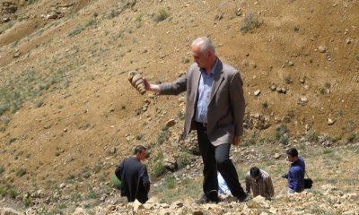 Fosil Dağında İnceleme Başlatıldı-Foto Haber