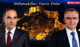 Bayburt Milletvekilleri Ağbal ve Karaoğlu Yemin Ettiler