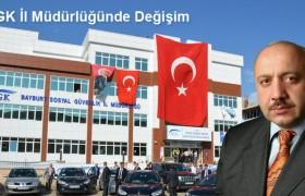 Bayburt SGK İl Müdürlüğüne Nuhoğlu Atandı