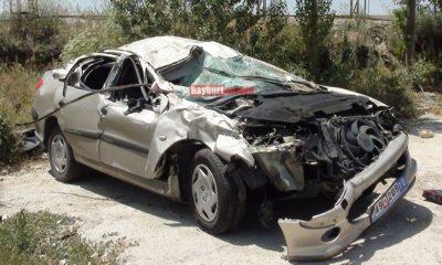 Baybram Öncesi İki Ayrı Kazada 2 Kişi Öldü-Foto Haber