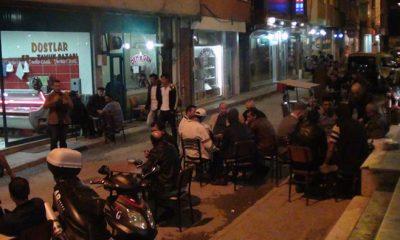 İftar Sonrası Yolları İşkal Eden Kahveciler Uyarıldı-Foto Haber