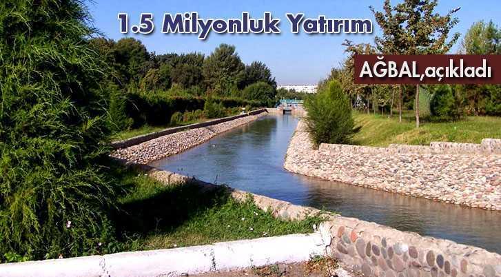 Bayburt'a Ankara Büyük Şehir Belediyesinden Dev Yatırım