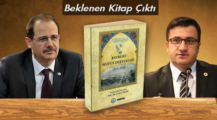 Bayburt Tarihine Işık Tutan Kitap Çıktı